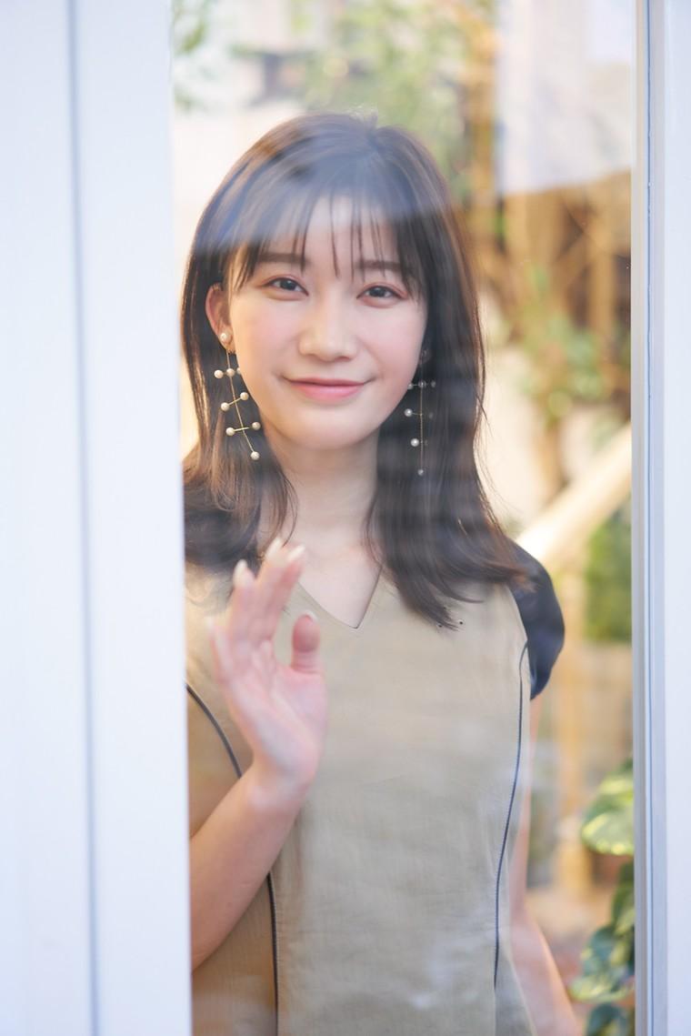 音楽映画の導入の小倉優香さん