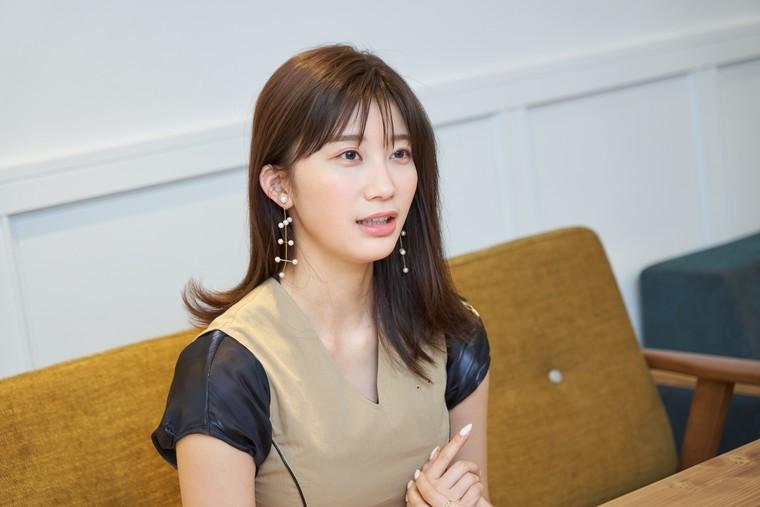 演技論を語る小倉優香氏